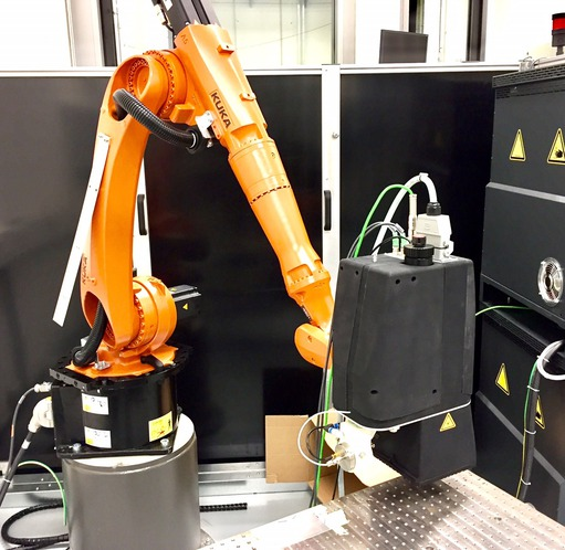 Application report: Inline testing of the wettability of material surfaces - Automation W+R