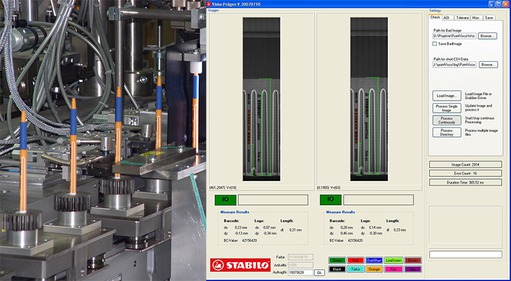 Application story - Stabilo: Labelling inspection