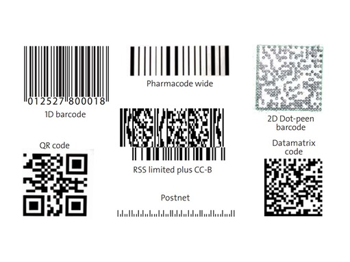 Knowledge base - Example for barcodes and datamatrix codes