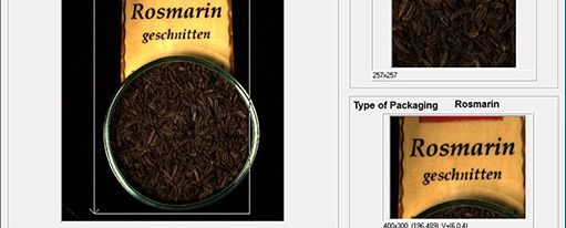 CVB Manto - Inspect prints on spice packages